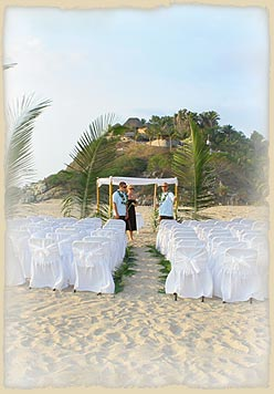 All Inclusive Destination Beach Weddings at Costa Azul Adventure Resort