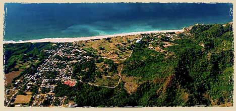 Arial View of San Pancho Mexico