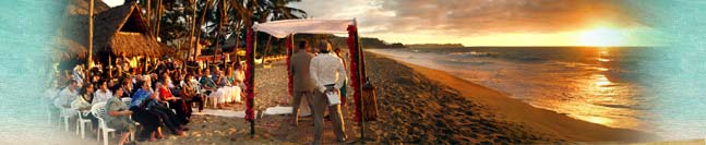 Mexican Beach Wedding - Costa Azul Adventure Resort